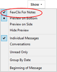 Launching FewClix for Notes